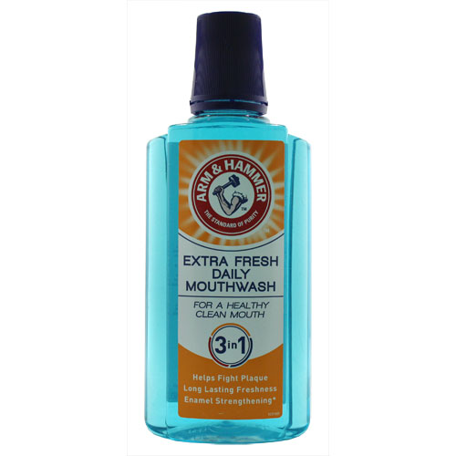 Arm and Hammer 3 in 1 Extra Fresh Daily Mouthwash 400ml