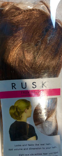 Rusk Faux Hair Auburn Hair Extension