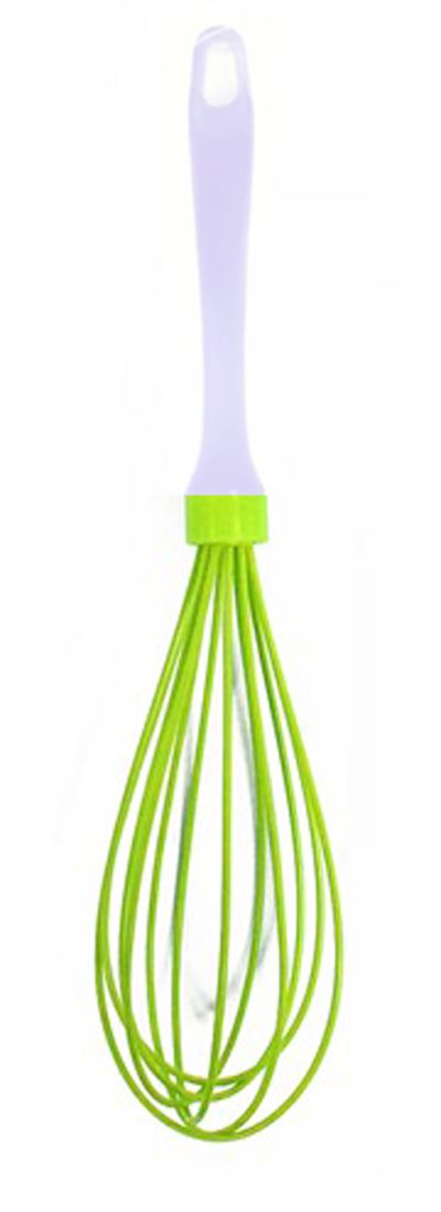 'Brights' Green Silicone Balloon Whisk Great For Cooking & Baking