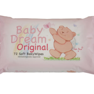 Baby dream (baby soft) baby 72 wipes