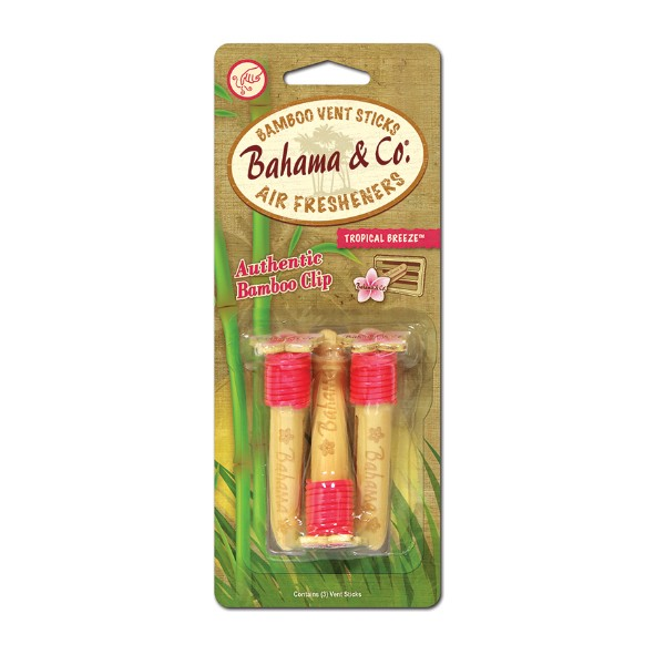 Bahama & Co. Bamboo Vent Sticks Air Fresheners