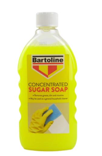 Bartoline Sugar Soap Liquid Concentrate 500ml