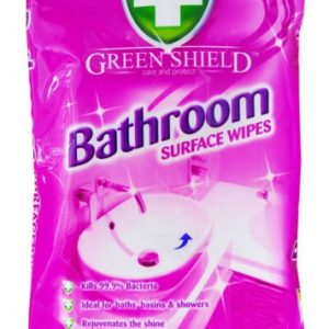 Green shield Bathroom Surface - 70 Extra Large Wipes