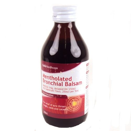 BELL'S HEALTHCARE MENTHOLATED BRONCHIAL BALSAM 200ML