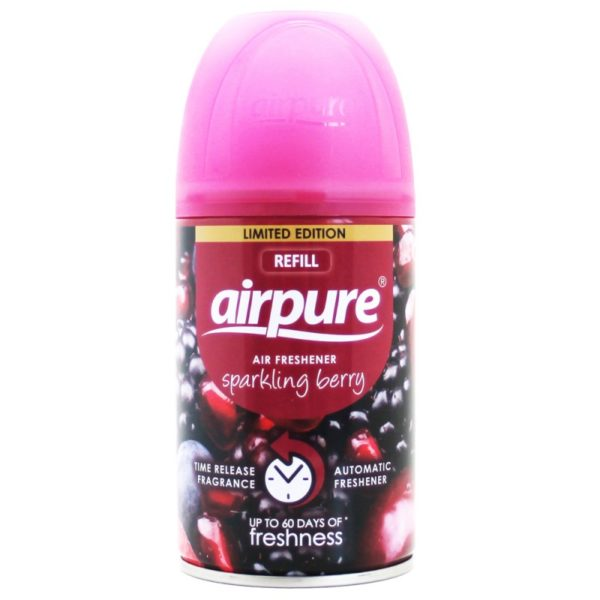 AirPure Air Freshener Sparkling Berry spray can