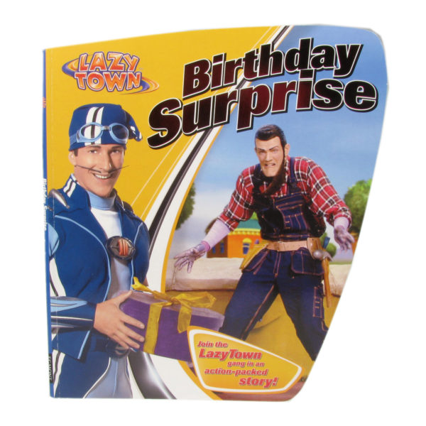 Lazy Town Birthday Surprise book