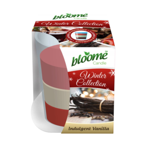 Bloome Candle Winter Collection Indulgent Vanilla