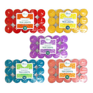 Bloome Scented Tea light 15pk TYPE MAY VARY