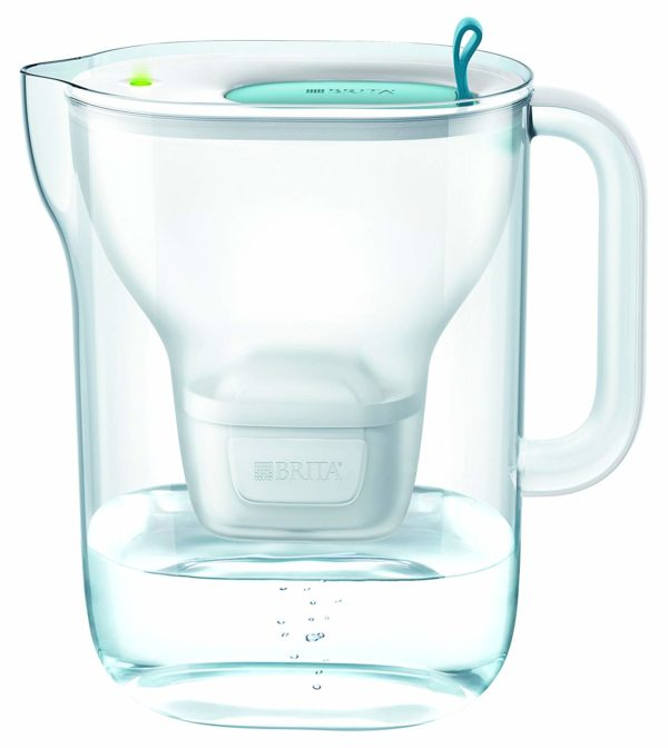BRITA Style XL Water Filter Jug and Cartridge, Soft Blue