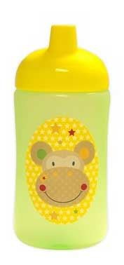 First Steps jungle pals super sipper cup baby bottle 400ML BPA Free