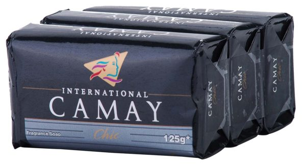 Camay Chic soap 3 x 125g