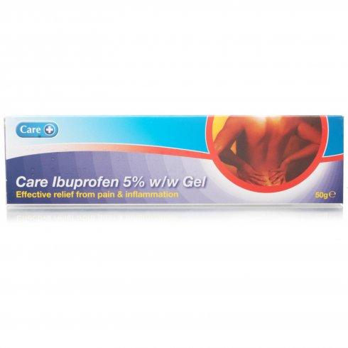 Care Ibuprofen 5% w/w Gel 50g
