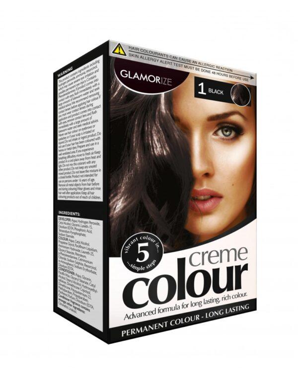 Glamorize Creme Colour 1 Black