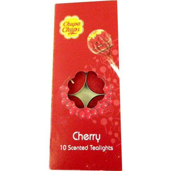Chupa Chups Cherry 10 Scented Tealights