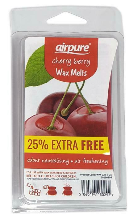 AirPure Cherry Berry Wax Melts 86g