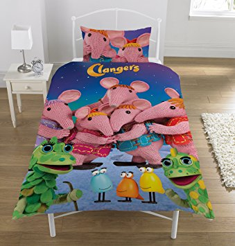 Clangers Single Duvet Set