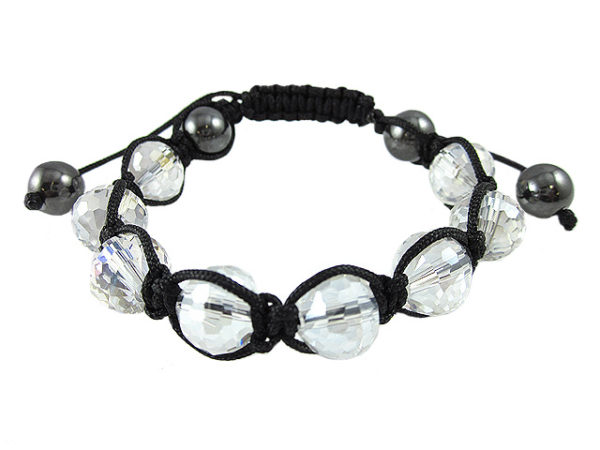 Crystal Ball Bracelet Clear