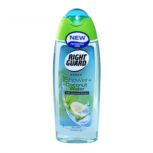 Right Guard Women Shower+ Coconut Water Dry Skin 250ml