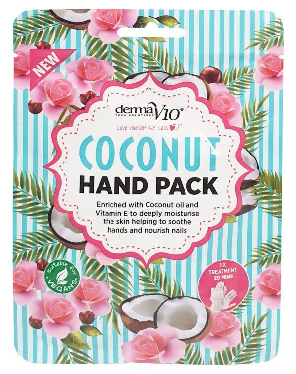 Derma v10 Coconut Hand Pack