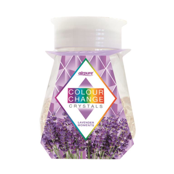 AirPure Colour Change Crystals Lavender Moments 300g