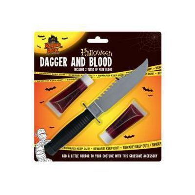 Halloween Dagger and Blood