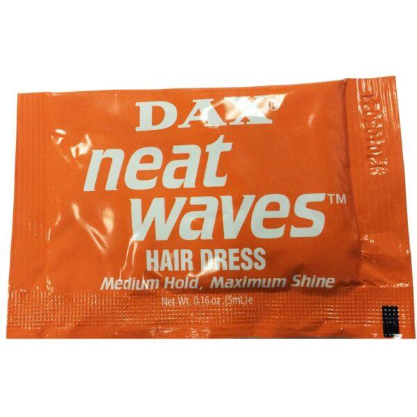 Dax Neat Waves Hair Dress Medium Hold Maximum Shine 10 Sachets