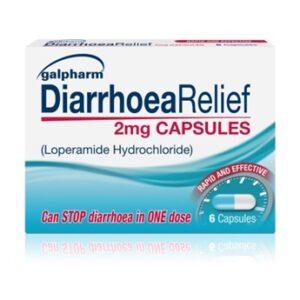 Galpharm Diarrhoea Relief 2mg Capsules