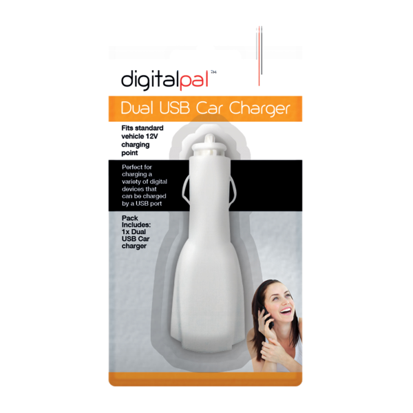 DigitalPal Dual USB Car Charger