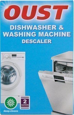 Oust Dishwasher & Washing Machine Descaler 2 Sachet