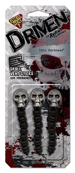 Driven Into Darkness Skull Vent Sticks Air Freshener