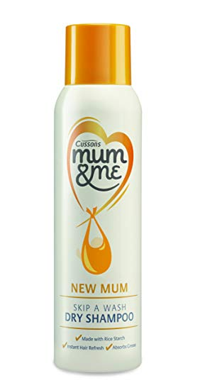 Cussons Mum & Me New Mum Skip A Wash Dry Shampoo 150ml