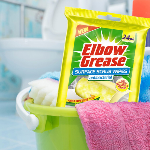 Elbow Grease Surface Scrub Antibacterial Wipes