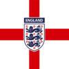 England Crest Flag 5x3 (with eyelets)