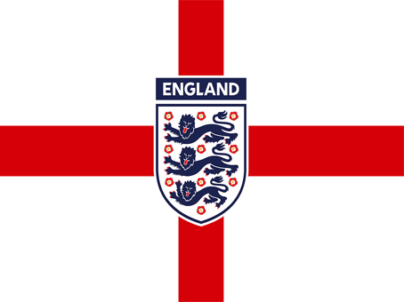 England Crest Flag 5x3 (with eyelets)