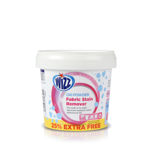 Wizz Oxi Powder Fabric Stain Remover 625gm