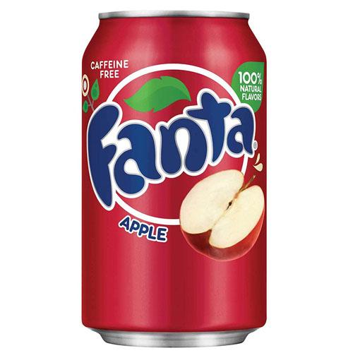 FANTA APPLE SODA CAN 355ML