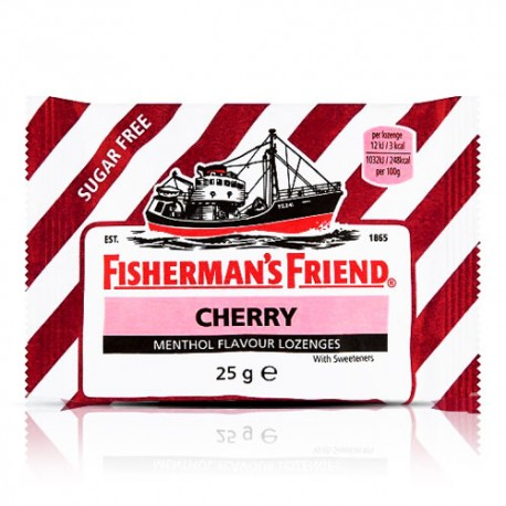 Fisherman's Friend Cherry & Menthol Lozenges 25g