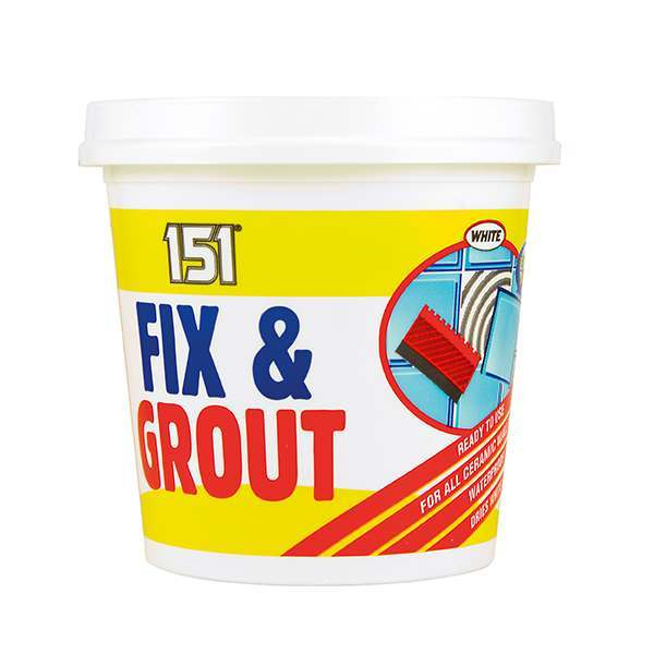 151 Fix & Grout White 500g