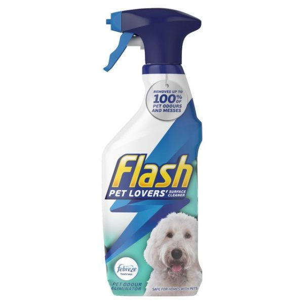 Flash Pet Surface Cleaner Spray 500ml