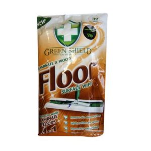 green shield wood and laminate floor wipes 30