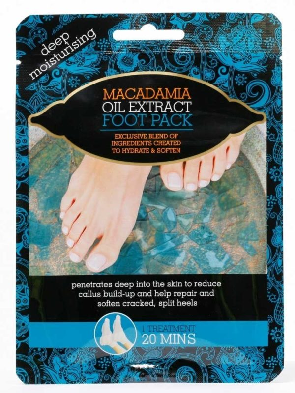 macadamia oil extract foot pack