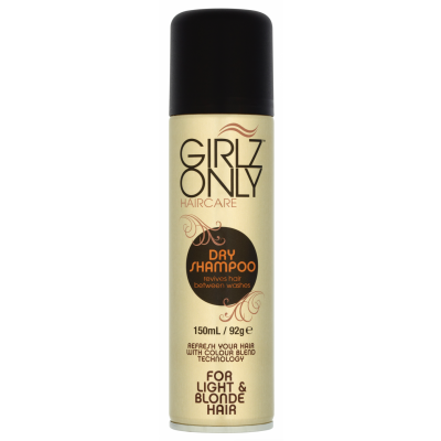 Girlz Only Haircare Dry Shampoo For Light & Blonde Hair 150ml