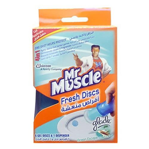 Mr Muscle Fresh Discs - 38g, Ocean Escape