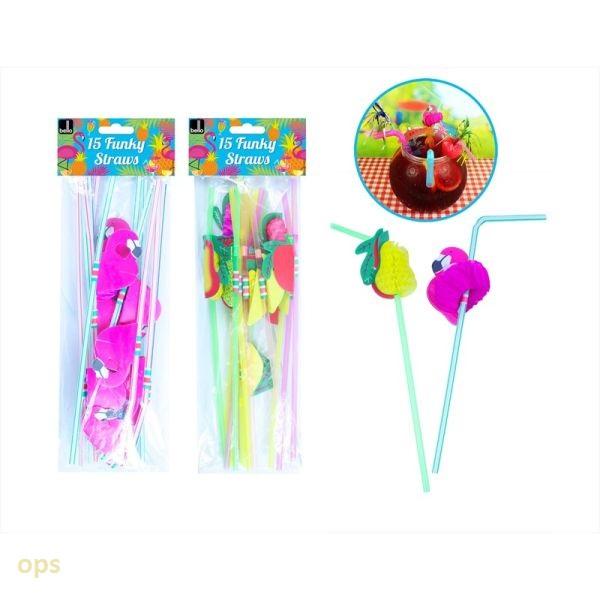 15 funky straws