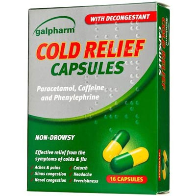 Galpharm Cold Relief 16 Capsules