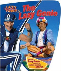 Lazy Town The Lazy Genie Book