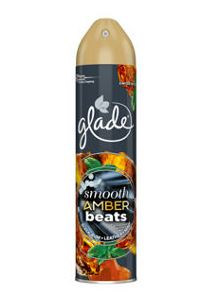 Glade Limited Edition Smooth Amber Beats Air Freshener 300ml