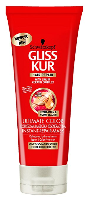 Schwarzkopf Gliss Kur Ultimate Colour Instant Repair Mask 200ml
