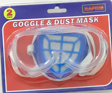 Goggles & Dust Mask 2 Pieces
