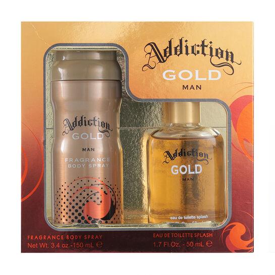 Addiction Gold Man Gift Set